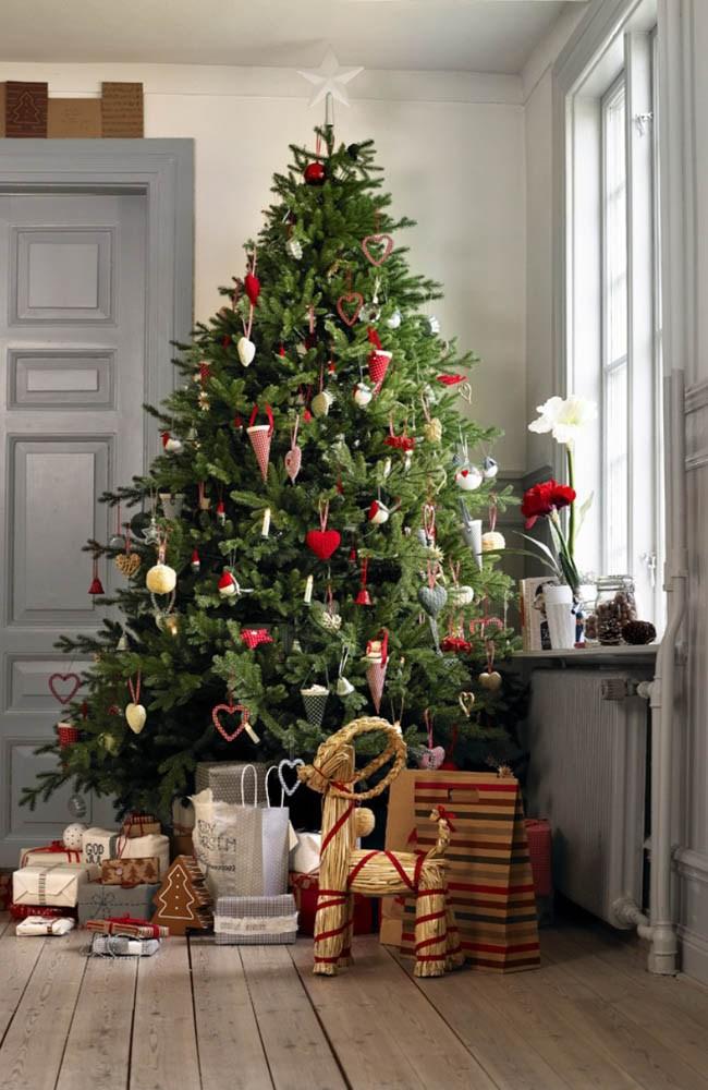 Árbol de Navidad y decoraciones navideñas de Ikea