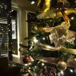 Decoració nadalenca hotel 4 estrelles a les rambles de Barcelona