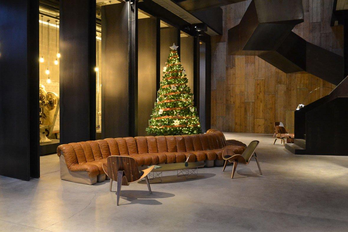 Empresa de decoración navideña